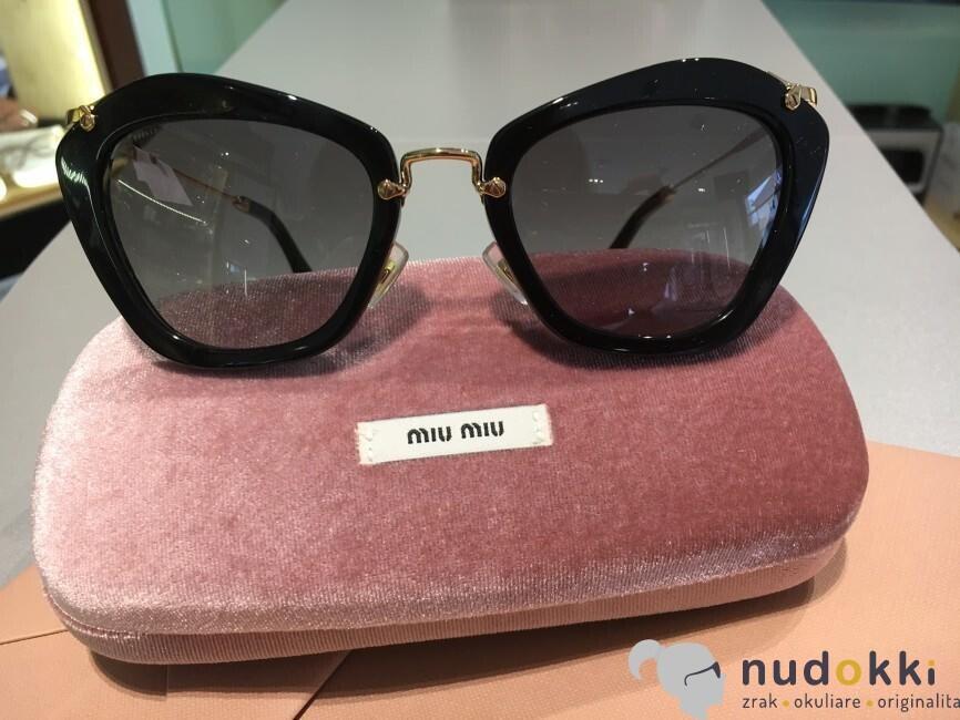 f50a952d9 Zobrazit v plné velikosti · sluneční brýle Miu Miu MU 10NS 1AB3m1