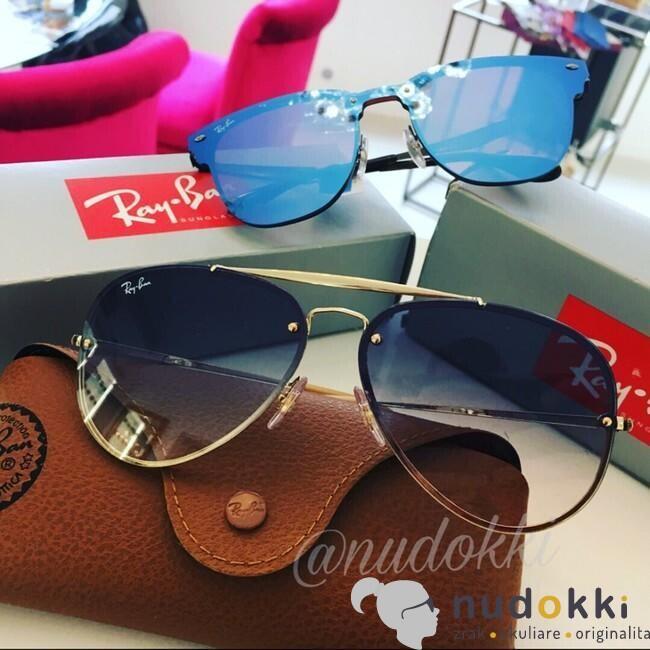 sluneční brýle Ray-Ban BLAZE AVIATORRB 3584N 001 19 - Nudokki.cz f23b06be3e