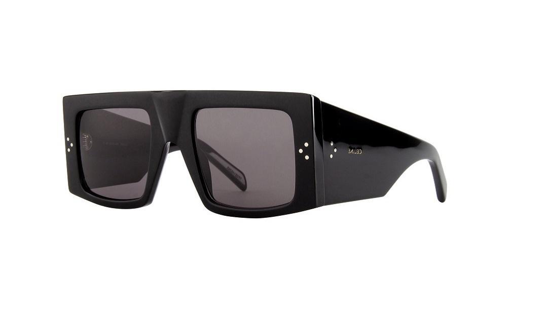 Masivní černé sluneční brýle