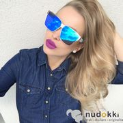 sluneční brýle IRRESISTOR KUBRIK GD WT