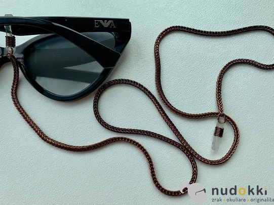 řetěz na brýle BROWN 200189