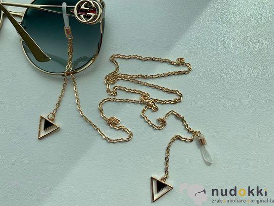 řetěz na brýle GOLD 200186