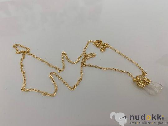 řetěz na brýle GOLD 200133