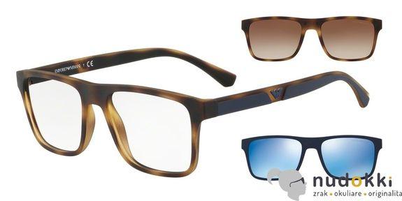 dioptrické brýle Emporio Armani EA4115 50891W