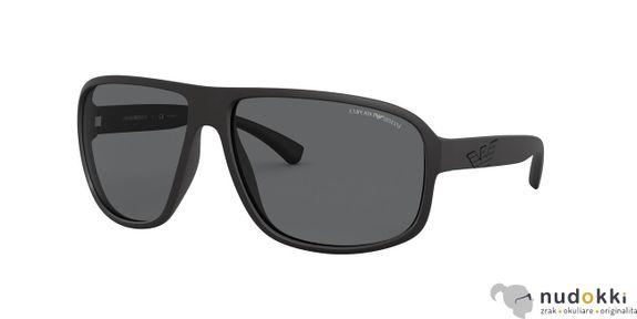 Sluneční brýle Emporio Armani EA4130 504281 POLARIZED