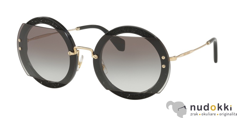 fed9935ca sluneční brýle Miu Miu MU 06SS 1AB0A7 - Nudokki.cz
